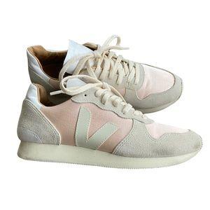 Veja Bastille Silk Quartz Holiday LT Trainer Sneakers EUC